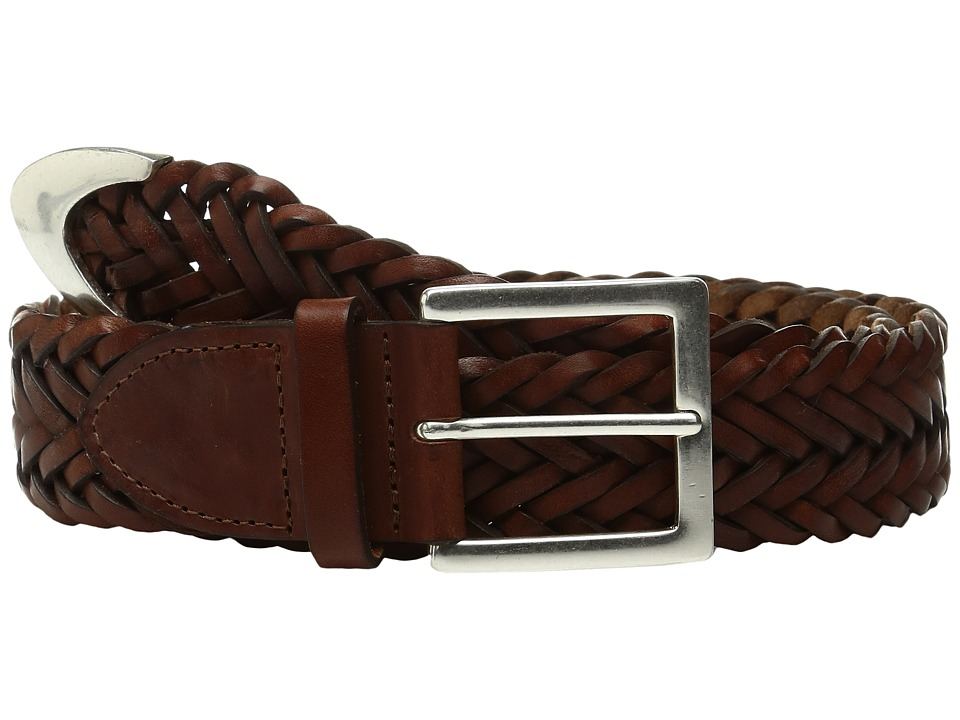 rag & bone - Braided Belt (Saddle Brown) Women's Belts
