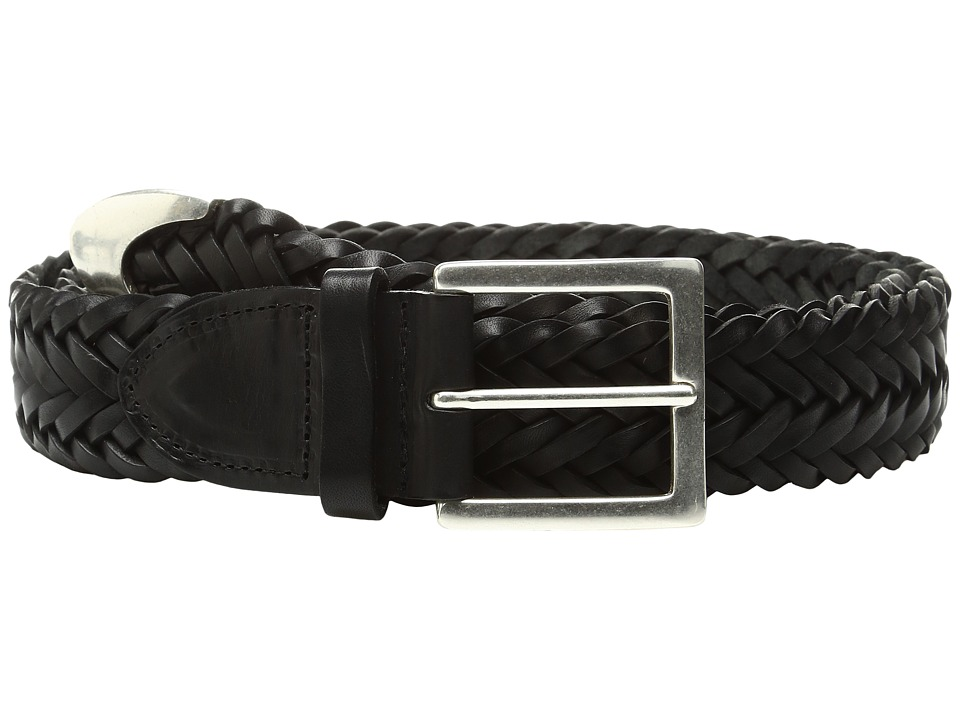 rag & bone - Braided Belt (Black) Women's Belts