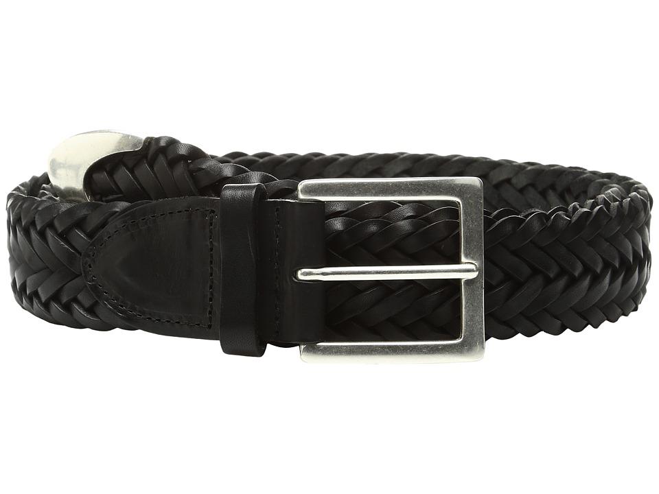 rag & bone - Braided Belt (Black) Women's Belts