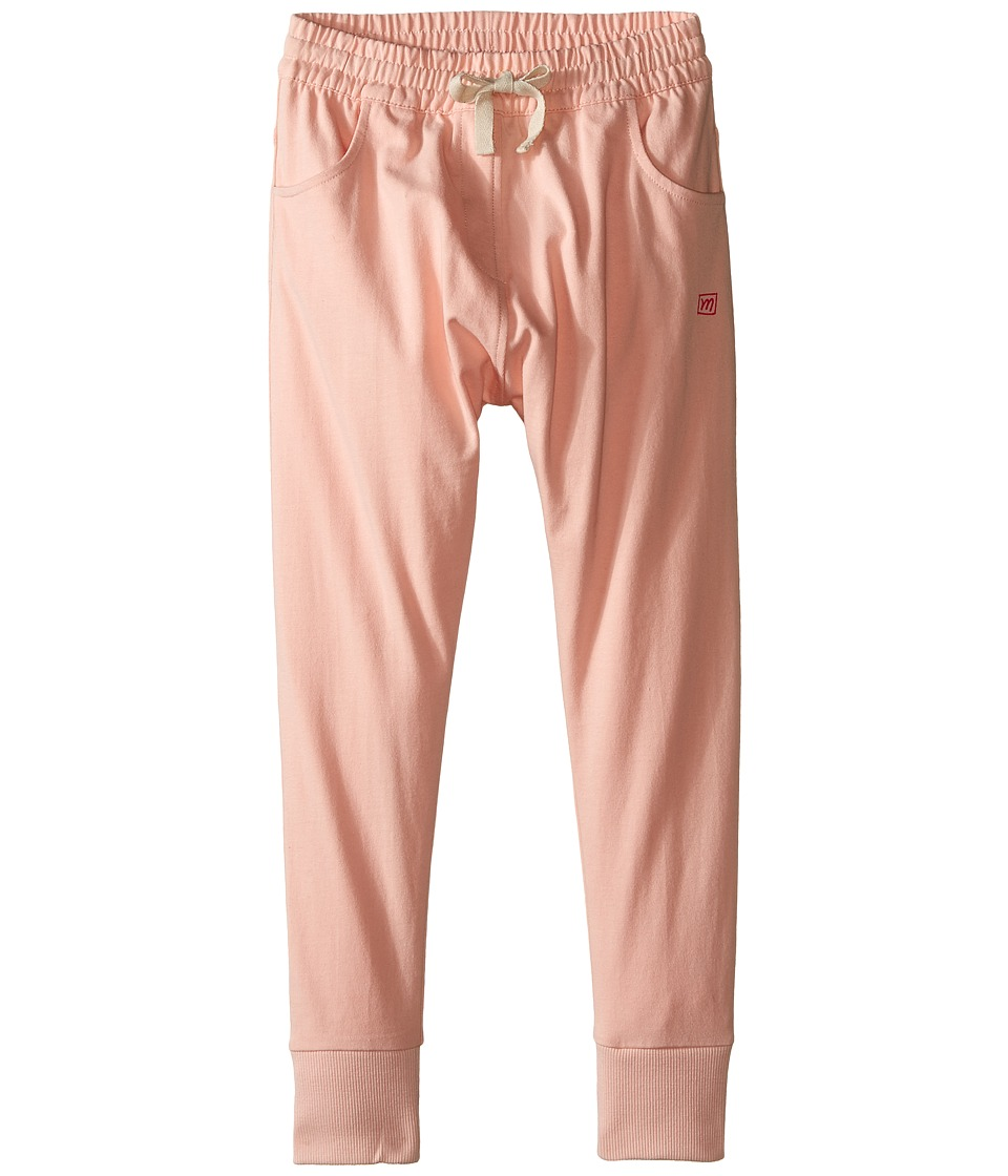 Munster Kids - Sammic Track Pants (Toddler/Little Kids) (Dusty Pink) Girl's Casual Pants