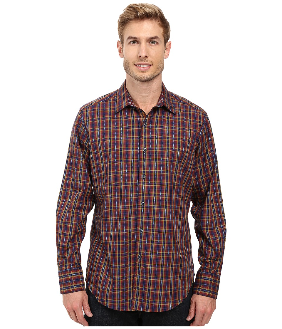 Robert Graham - Lando Long Sleeve Woven Shirt (Purple) Men's Long Sleeve Button Up