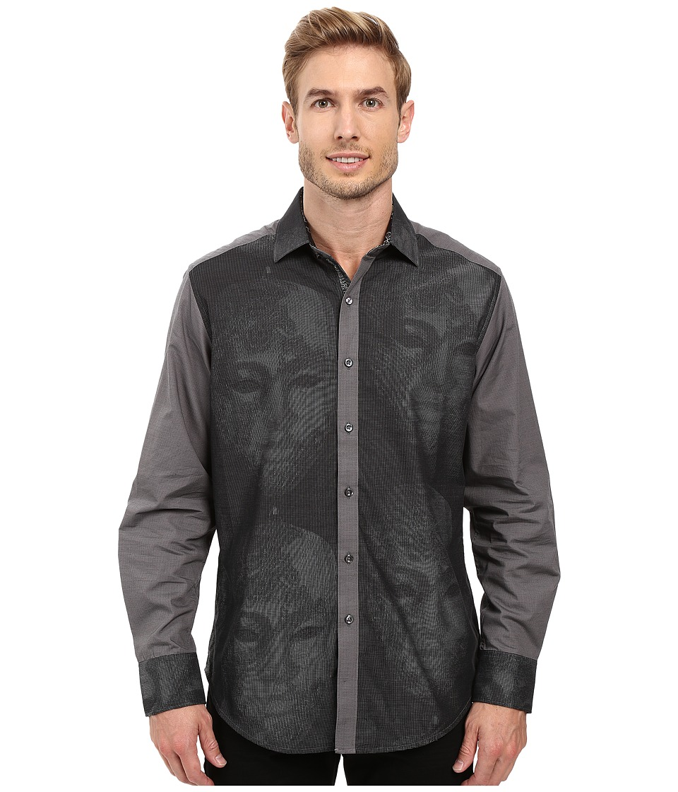Robert Graham - Limited Edition Long Sleeve Woven Shirt (Black) Men's Long Sleeve Button Up