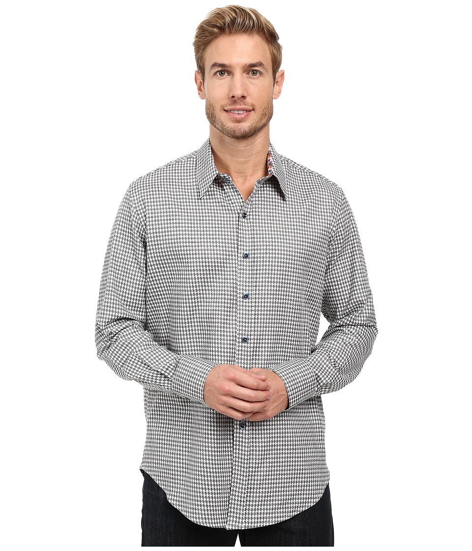 Robert Graham - Murano Long Sleeve Woven Shirt (White) Men's Long Sleeve Button Up