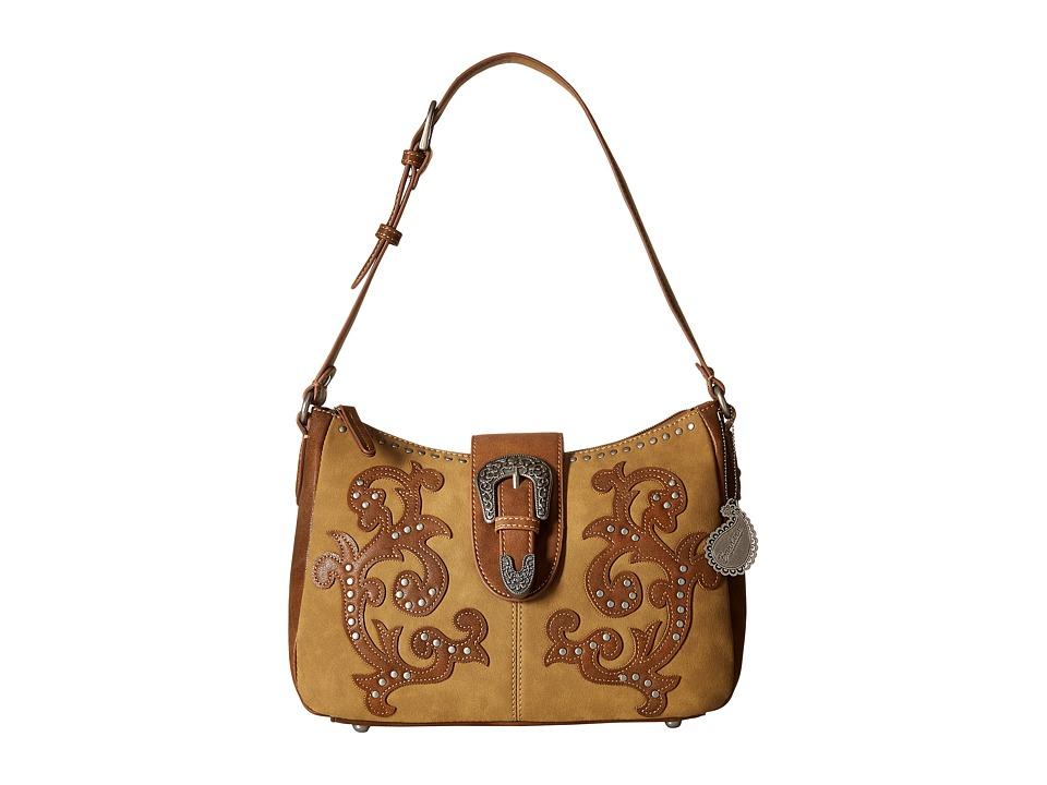 American West - Shady Cove Shoulder Bag (Honey/Golden Tan) Shoulder Handbags
