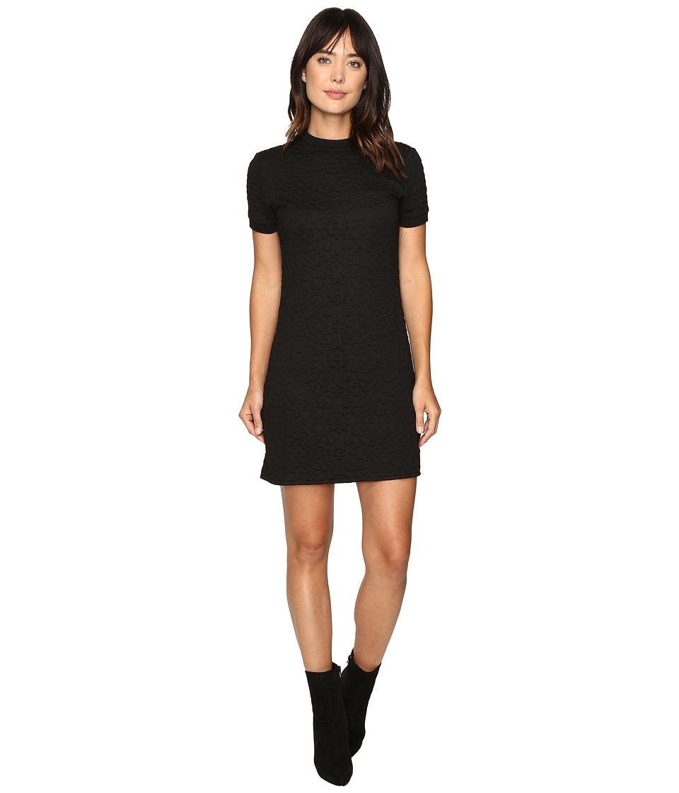 Mavi Jeans - Jacquard Dress (Black) Women's Dress