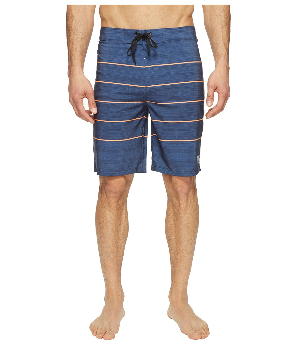 Hurley - Phantom Pinline Boardshorts 20 (Blue Moon) Men's Swimwear