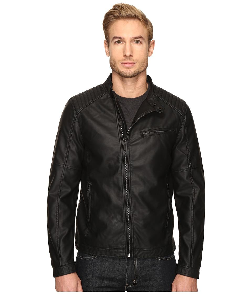 Mavi Jeans - Daykir Moto Jacket (Black) Men's Coat