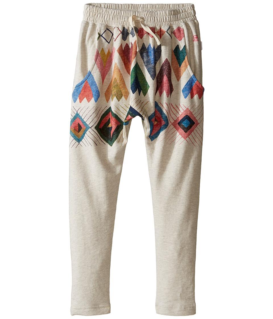 Munster Kids - Dip Pants (Toddler/Little Kids) (Oatmeal Marle) Girl's Casual Pants