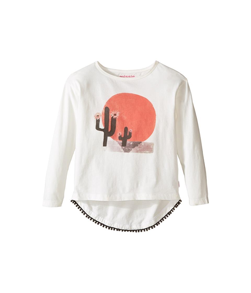 Munster Kids - Dessert Long Sleeve T-Shirt (Toddler/Little Kids/Big Kids) (Cream) Girl's T Shirt