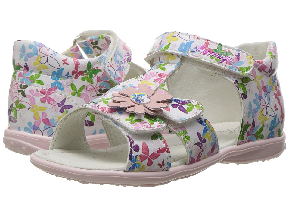 Primigi Kids - PBT 7050 (Infant/Toddler) (White Multi) Girl's Shoes