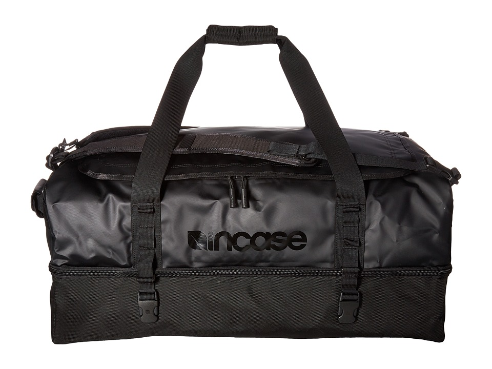 Incase - TRACTO Split Duffel 90 (Black) Duffel Bags