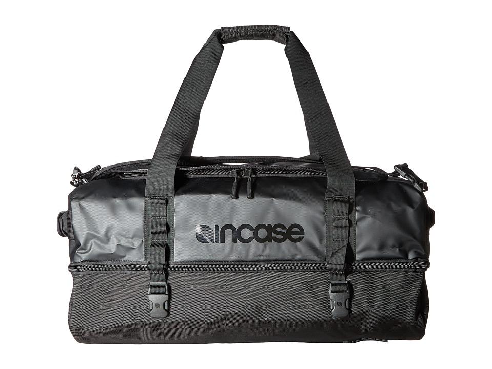 Incase - TRACTO Split Duffel 60 (Black) Duffel Bags