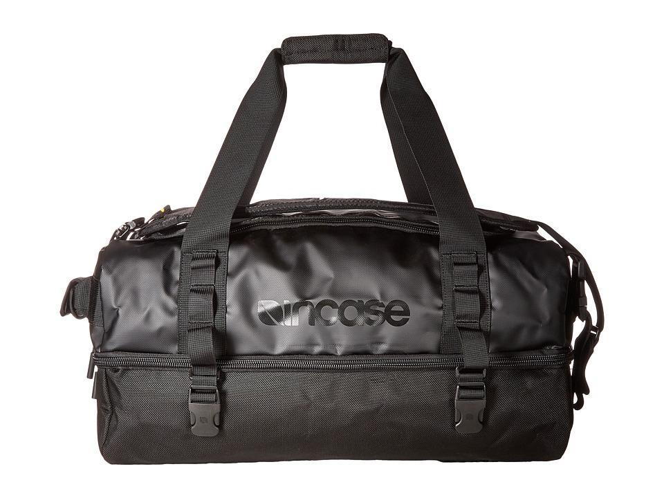 Incase - TRACTO Split Duffel 40 (Black) Duffel Bags