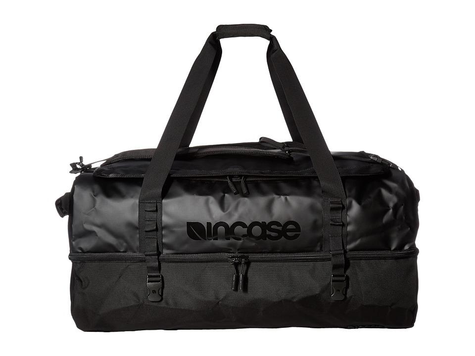Incase - TRACTO Split Duffel 120 (Black) Duffel Bags