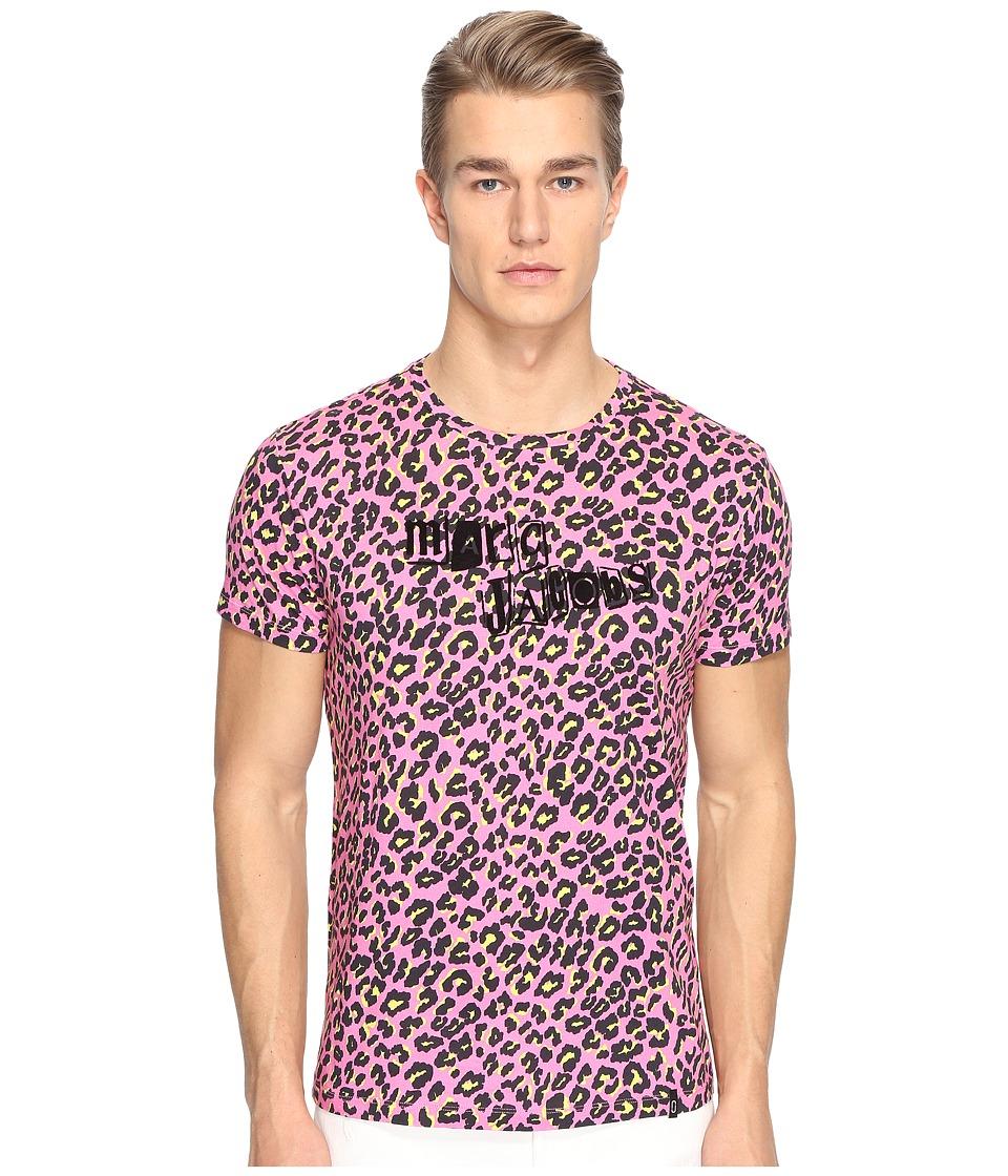 Marc Jacobs - Leopard T-Shirt (Shocking Pink) Men's T Shirt