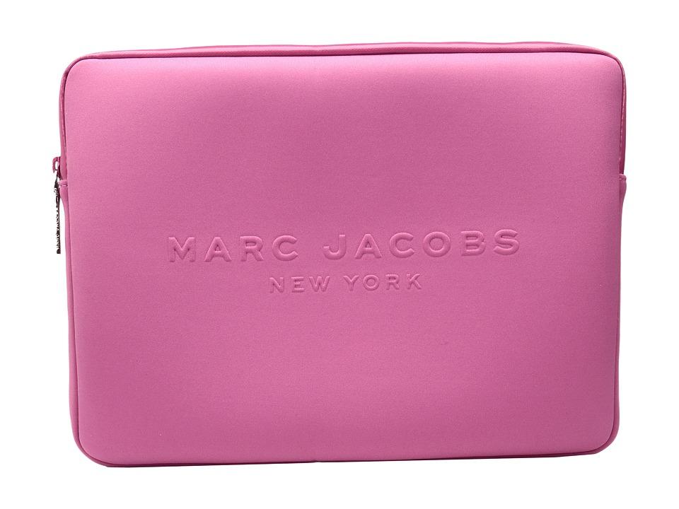 Marc Jacobs - Neoprene Tech 13 Computer Case (Magenta) Computer Bags