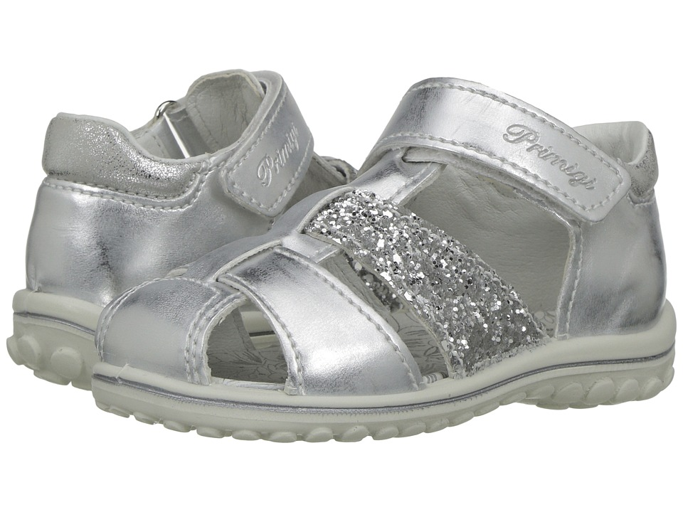 Primigi Kids - PSW 7557 (Infant/Toddler) (Silver) Girl's Shoes