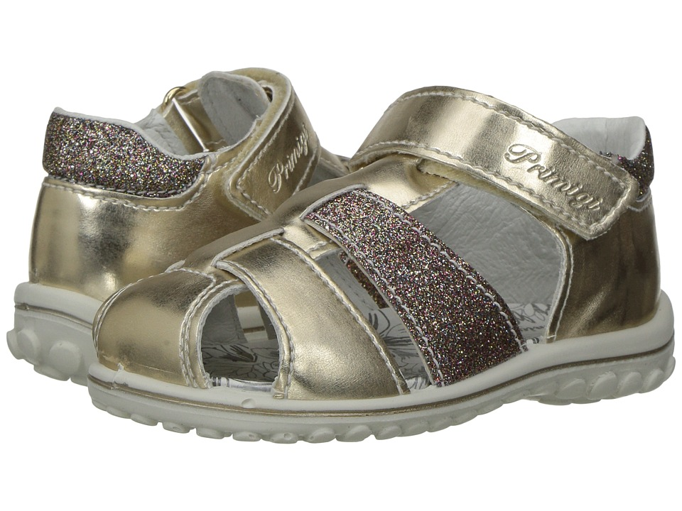 Primigi Kids - PSW 7557 (Infant/Toddler) (Gold/Pink) Girl's Shoes