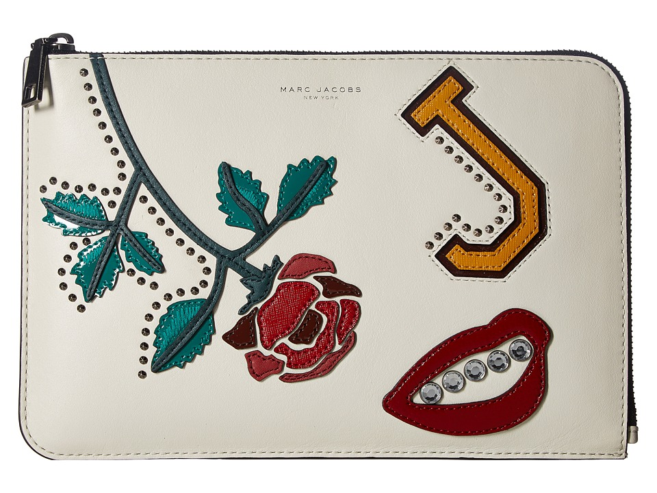 Marc Jacobs - MJ Collage Tablet Case (Dove Multi) Wallet