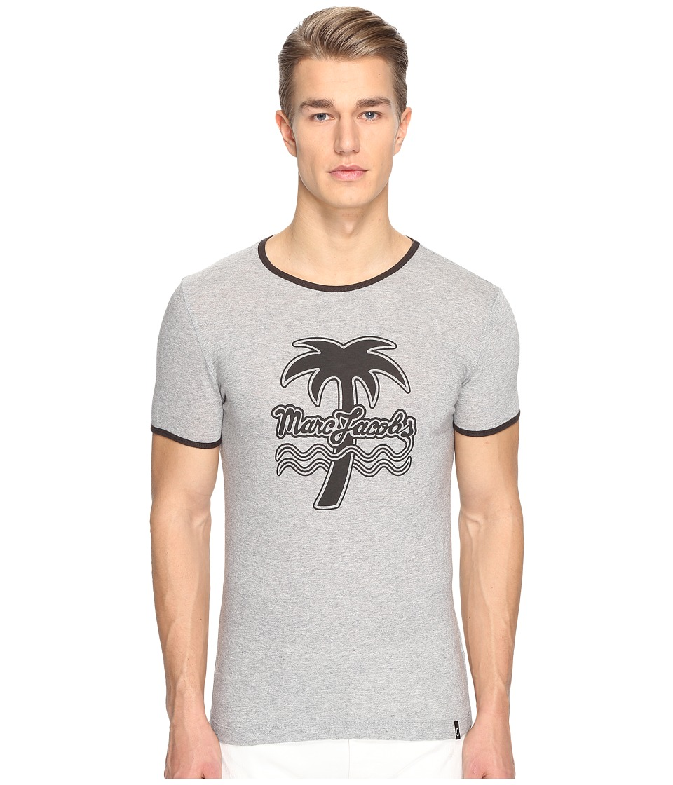 Marc Jacobs - Logo T-Shirt (Grey Melange) Men's T Shirt