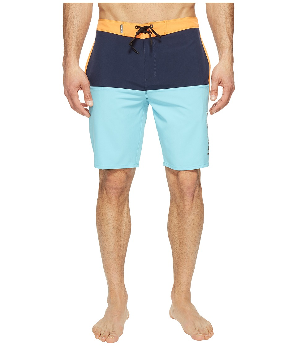 Hurley - Phantom Beachside Outake Bordshorts 19 (Vivid Sky) Men's Swimwear