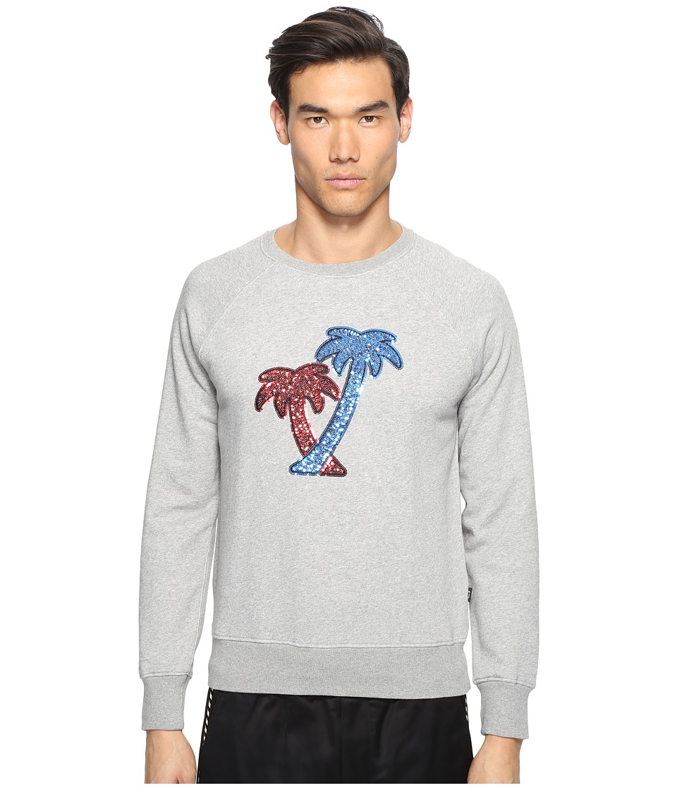 Marc Jacobs - Lightweight Sweatshirt (Grey Melange) Men's Clothing