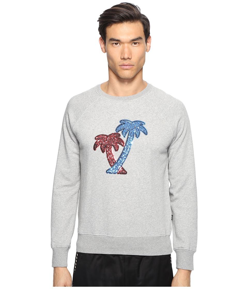Marc Jacobs - Lightweight Sweatshirt (Grey Melange) Men's Clothing