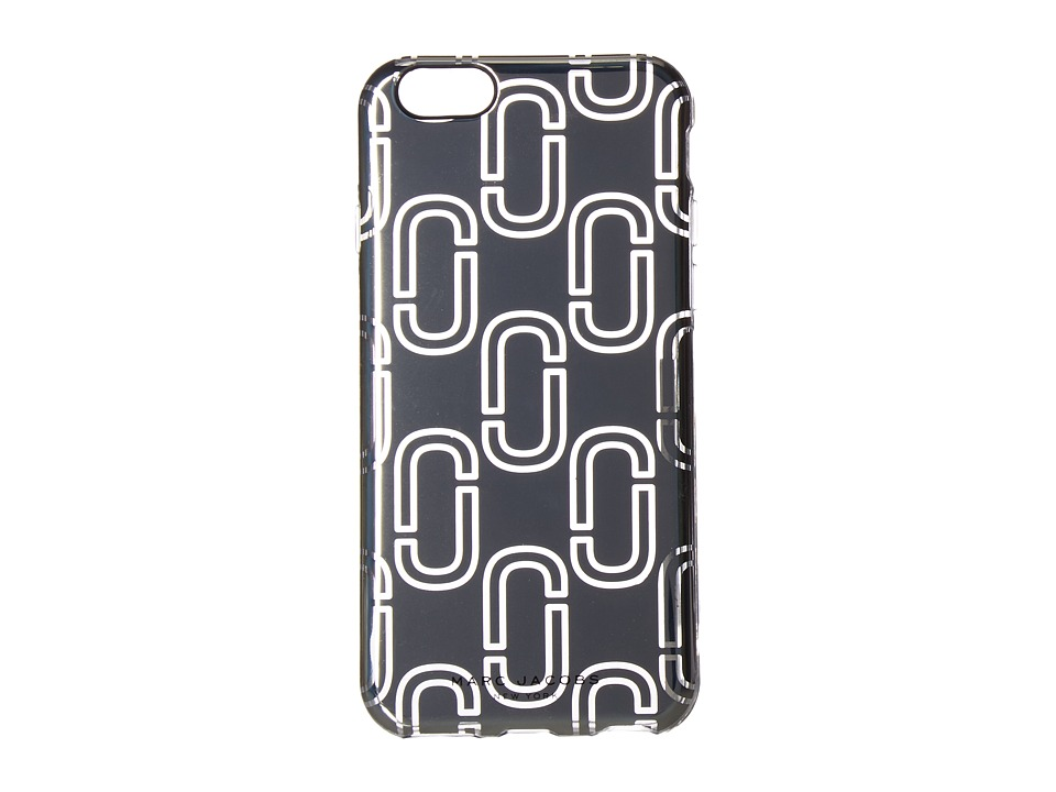 Marc Jacobs - Double J iPhone 6S Case (Silver) Cell Phone Case