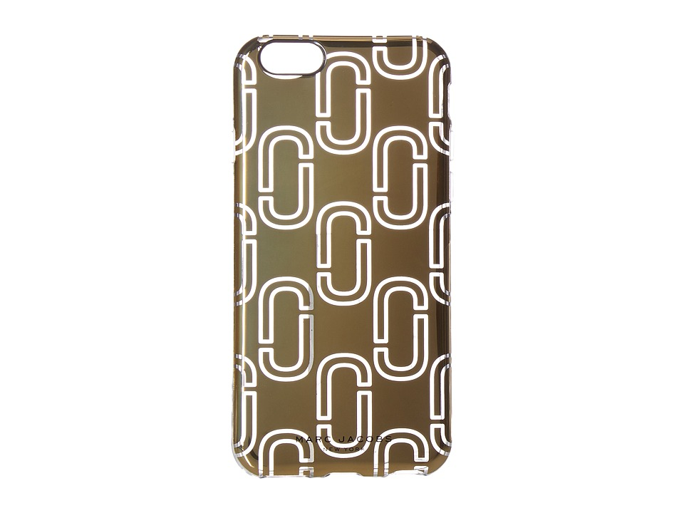 Marc Jacobs - Double J iPhone 6S Case (Gold) Cell Phone Case
