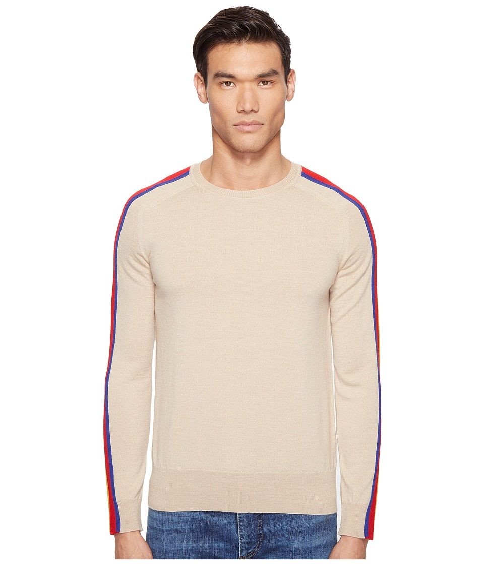 Marc Jacobs - Contrast Stripe Sweater (Incense) Men's Sweater