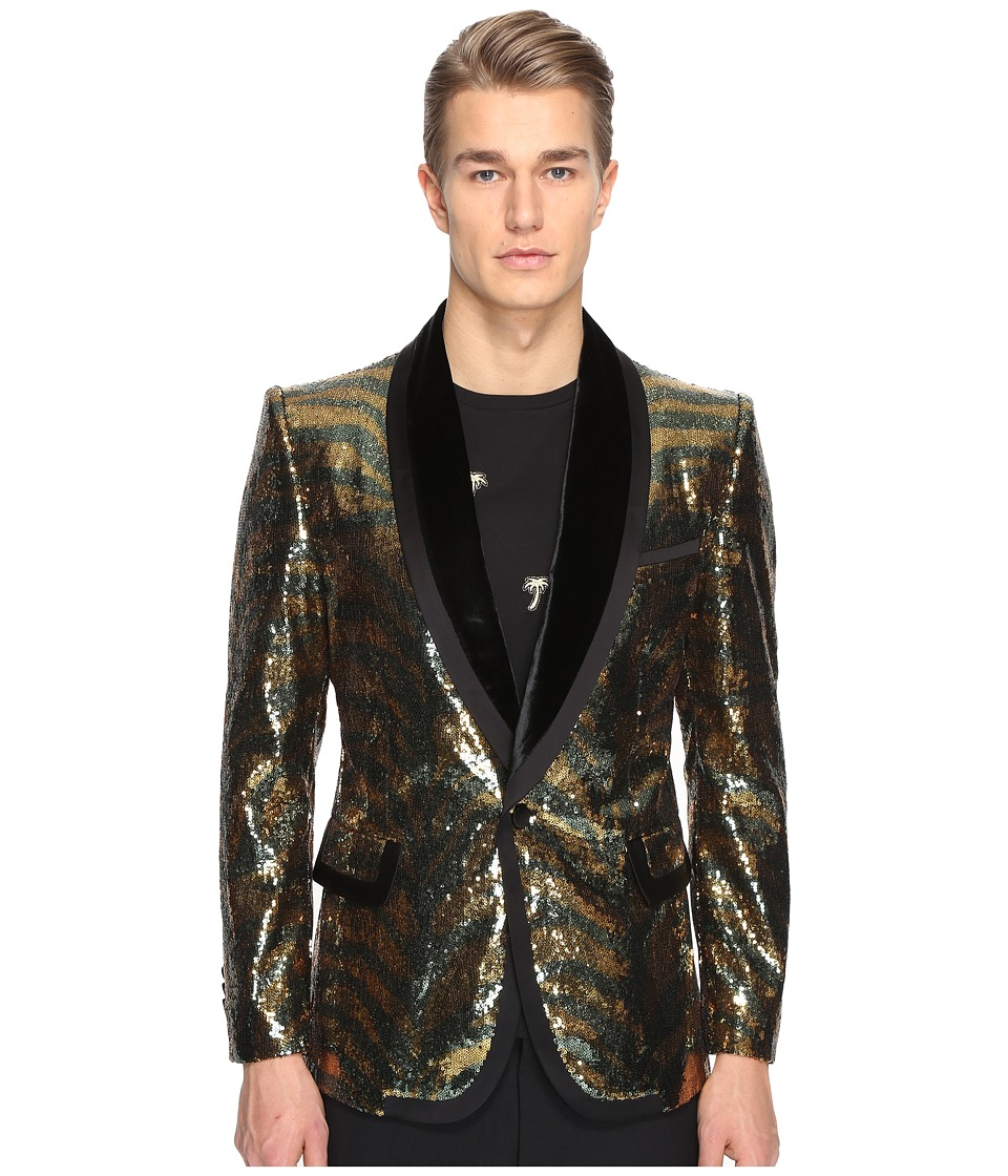 Marc Jacobs - Tiger Sequin Blazer (Black) Men's Jacket