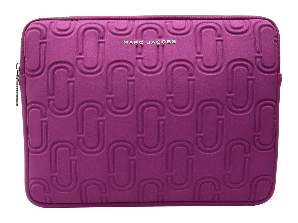 Marc Jacobs - 13 Double J Neoprene Computer Case (Wild Berry) Wallet
