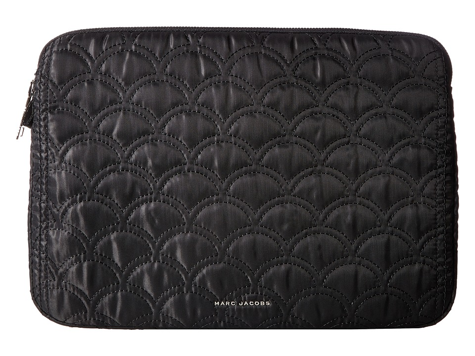 Marc Jacobs - 13 Easy Matelasse Computer Case (Black) Wallet
