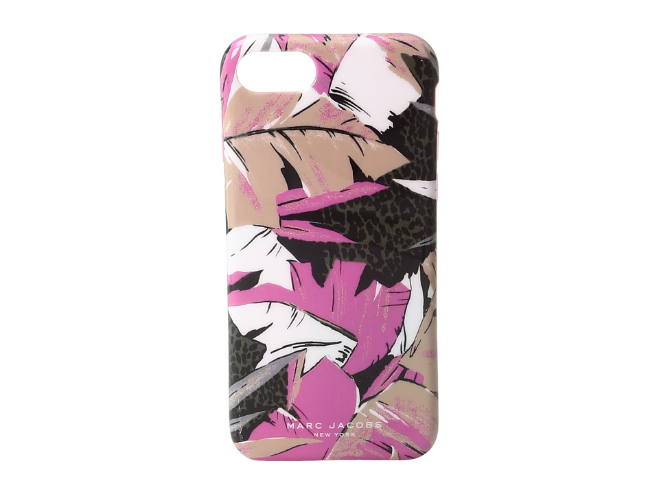 Marc Jacobs - Palm iPhone 7 Case (Pink Multi) Wallet