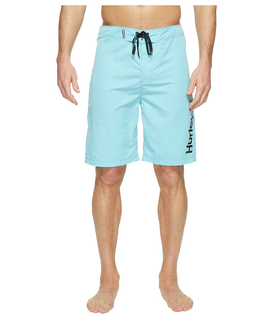Hurley - One Only Heather 2.0 Boardshorts 21 (Vivid Sky) Men's Swimwear