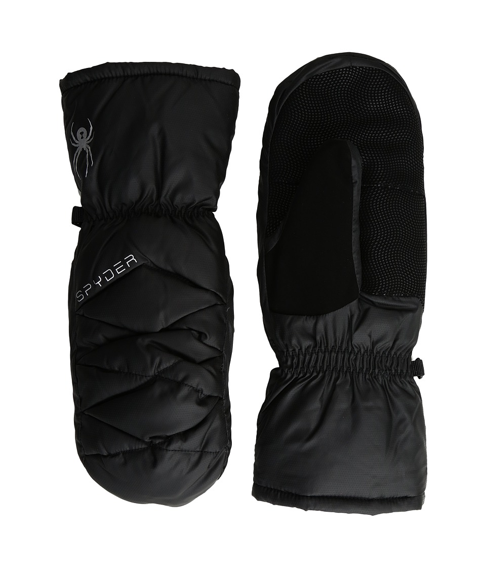 Spyder - Candy Down Mitten (Black 1) Extreme Cold Weather Gloves