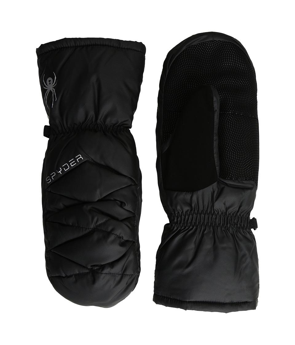 Spyder - Candy Down Mitten (Black 1) Extreme Cold Weather Gloves