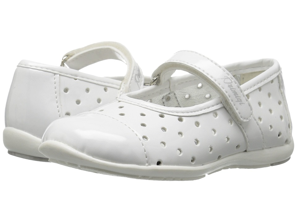 Primigi Kids - PHE 7107 (Toddler) (White) Girl's Shoes