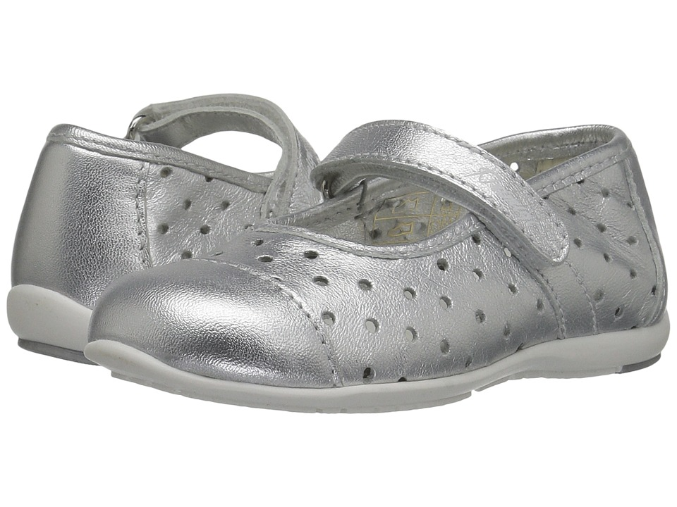 Primigi Kids - PHE 7107 (Toddler) (Silver) Girl's Shoes