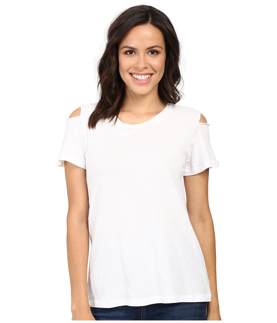 LNA - Luna Tee (White) Women's T Shirt