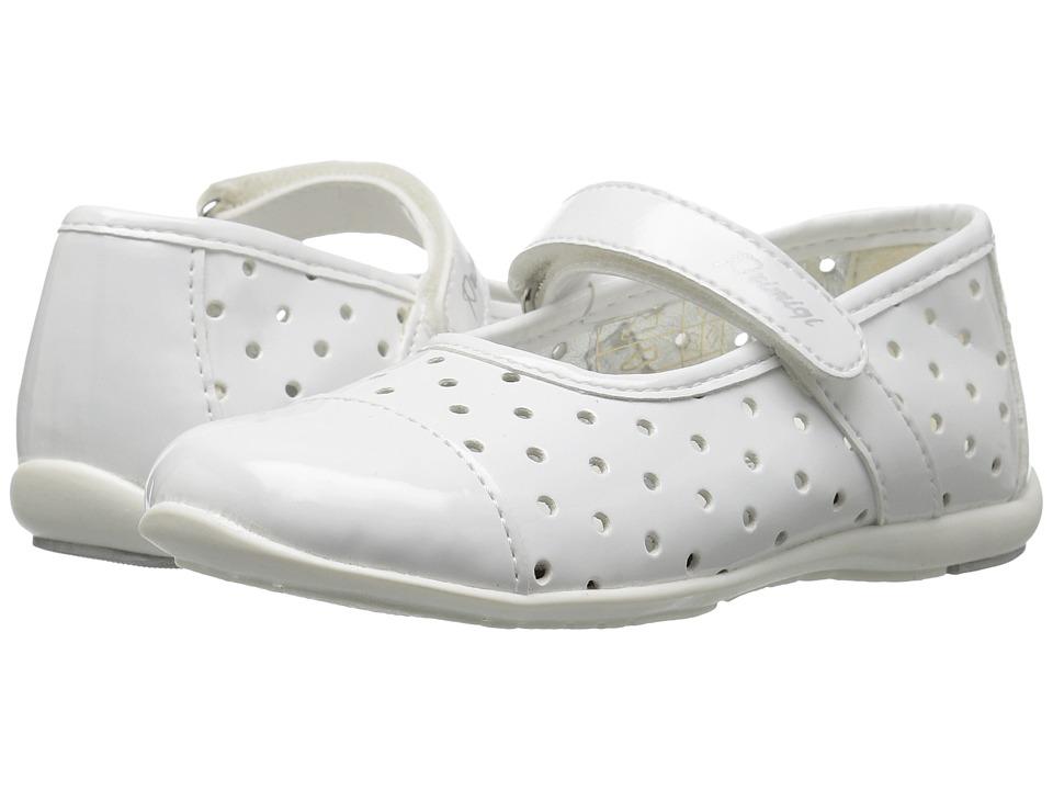 Primigi Kids - PHE 7107 (Toddler/Little Kid) (White) Girl's Shoes