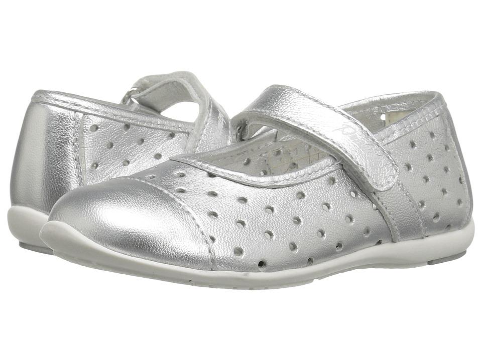 Primigi Kids - PHE 7107 (Toddler/Little Kid) (Silver) Girl's Shoes