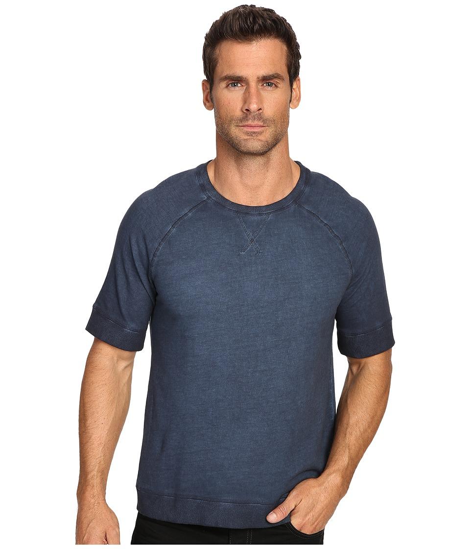 Michael Stars Short Sleeve Tee (Navy) Men