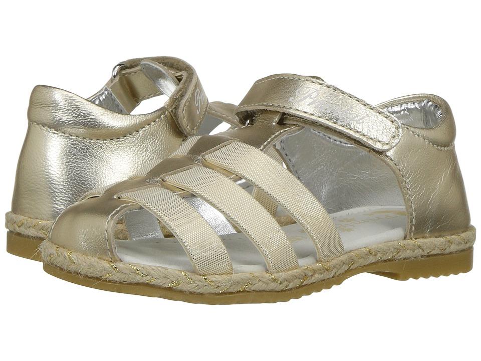 Primigi Kids - PHG 7114 (Toddler) (Gold) Girl's Shoes