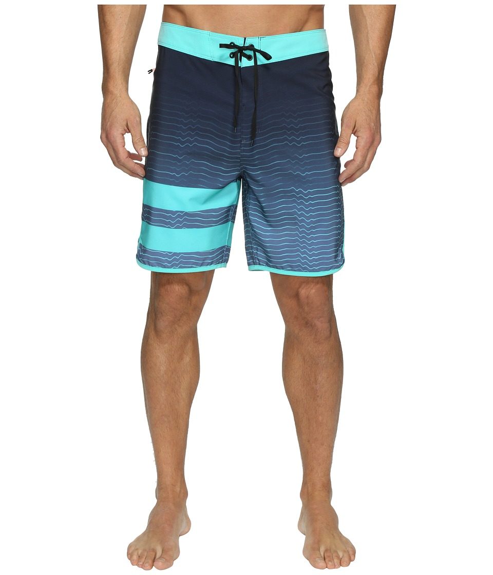 Hurley - Phantom Block Party Speed (Blue Moon) Men's Swimwear