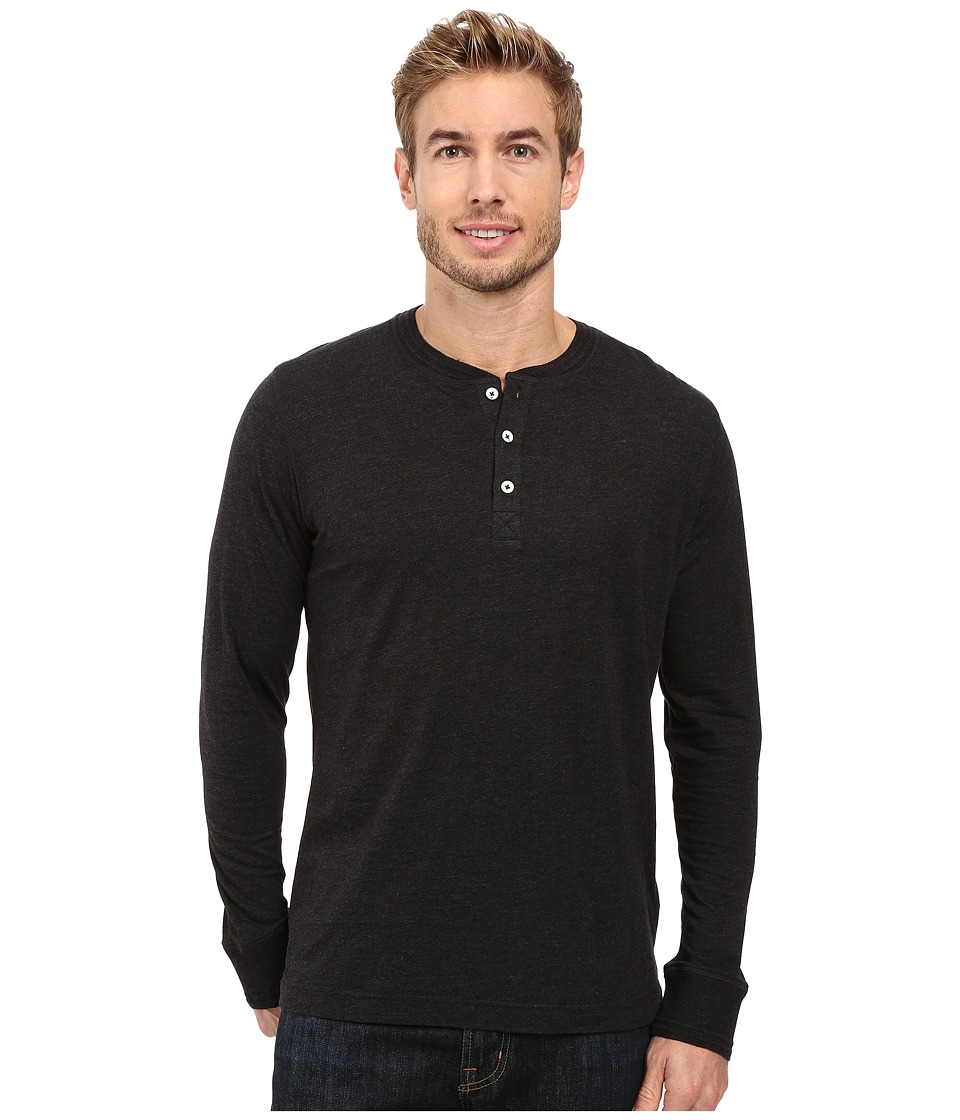 Robert Graham - Danieli Henley (Heather Dark Charcoal) Men's Clothing