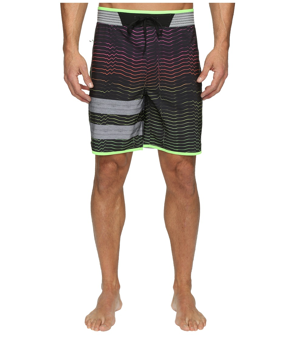 Hurley - Phantom Block Party Hyperweave Speed Elite (Multi) Men's Swimwear