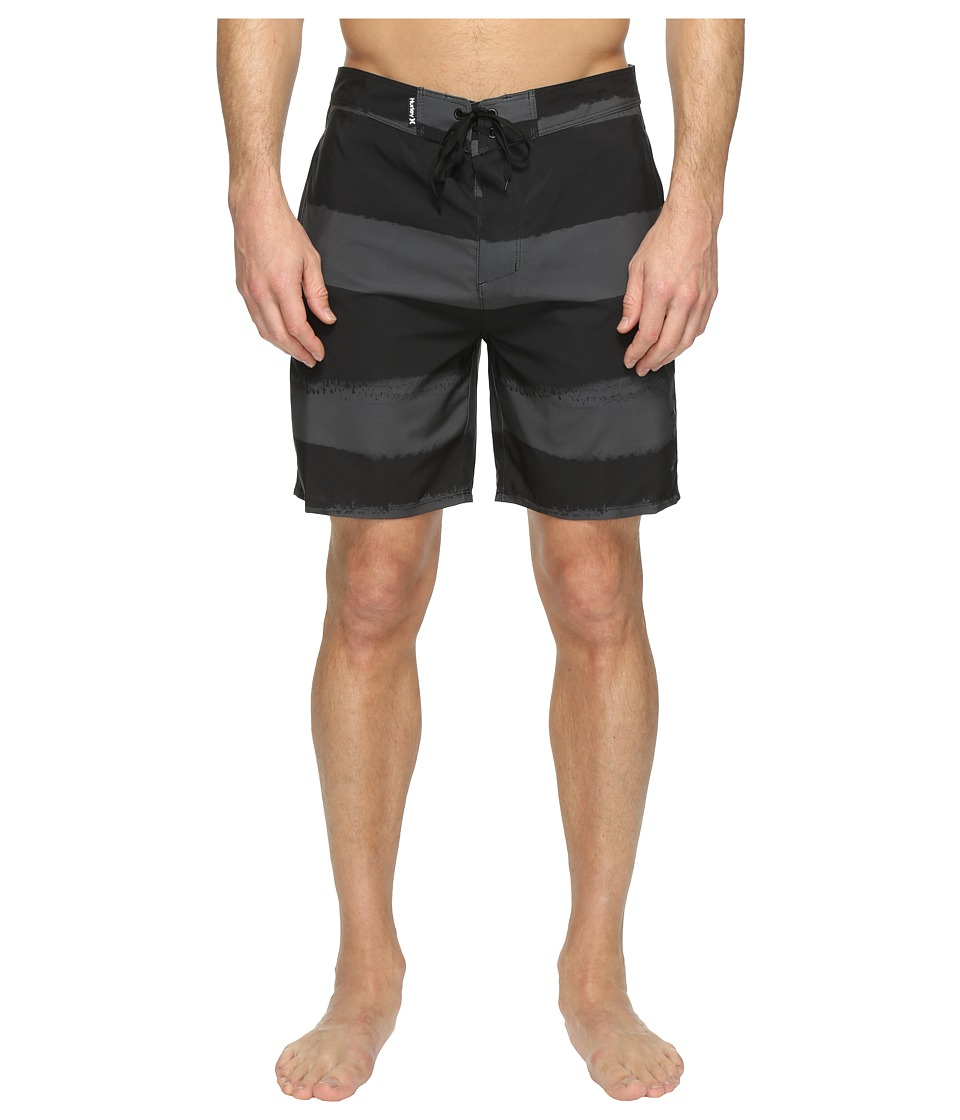 Hurley - Phantom Beachside Brother Boardshorts 19 (Black) Men's Swimwear