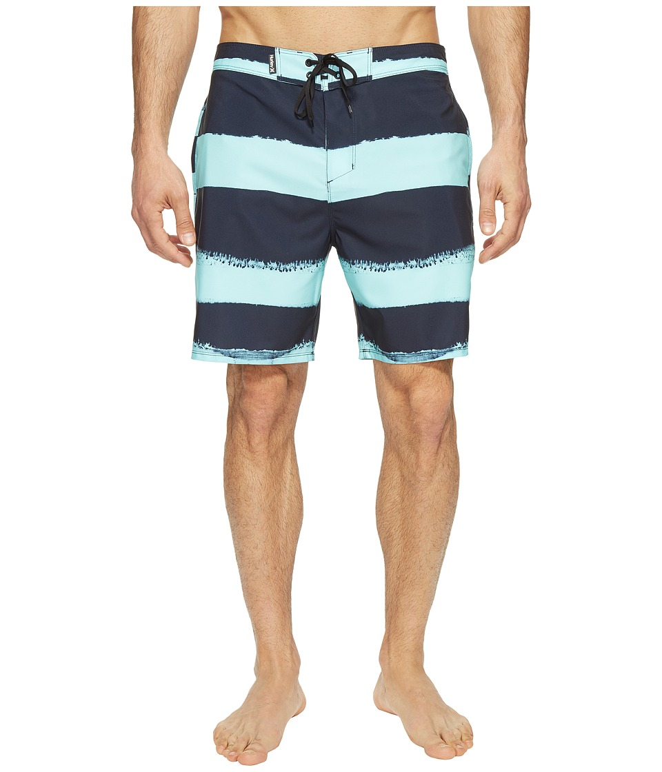 Hurley Phantom Beachside Brother Boardshorts 19 (Obsidian) Men