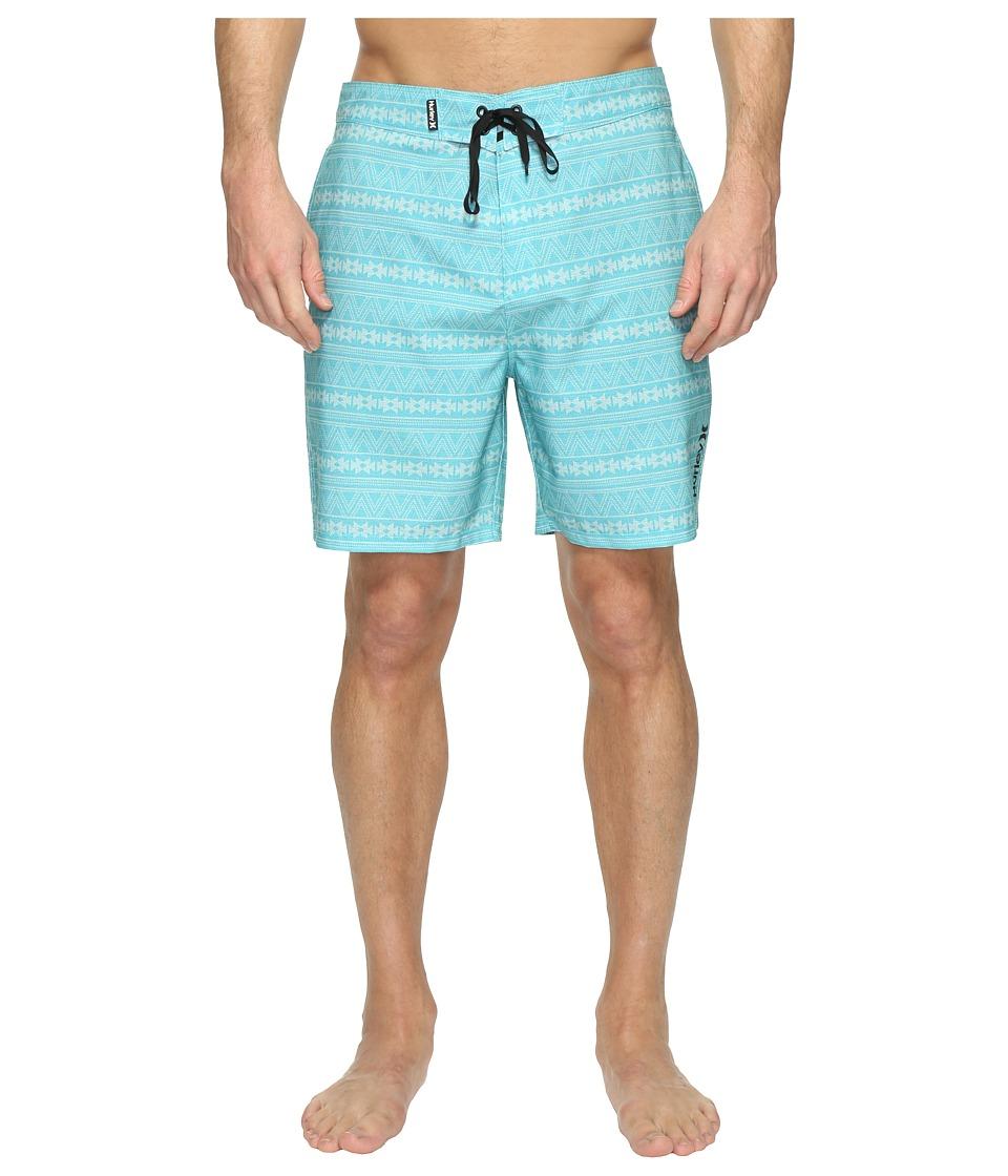 Hurley - Phantom Apache Boardshorts 19 (Vivid Sky) Men's Swimwear